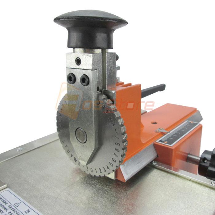 valve tag engraving machine