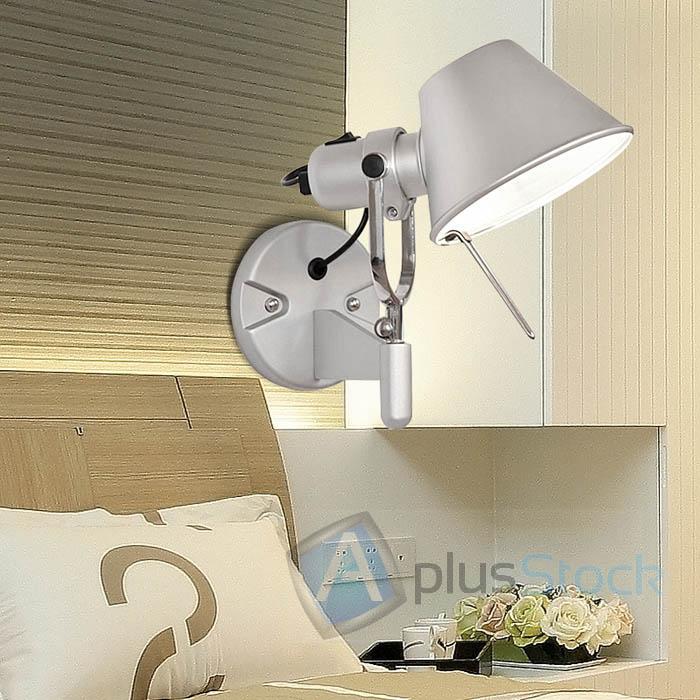 New Modern Artemide Tolomeo Wall Lamp Spot Light Aluminum Sconce Wall Lamp Ebay