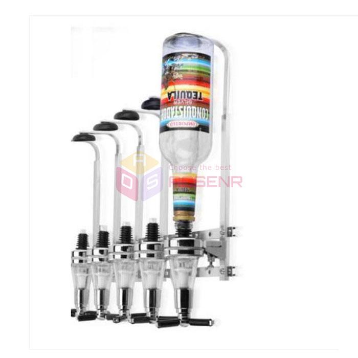 Single Shot Dispenser ~ Bar butler bottles wall mounted wine alcohol liquor shot