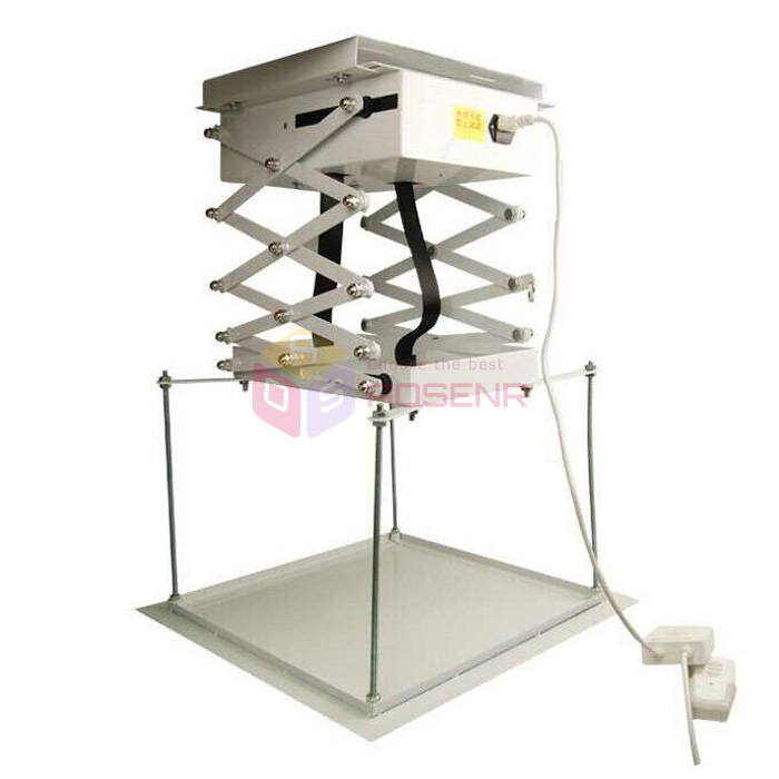 Electric Motorized Ceiling Scissor Projector Lift Remote