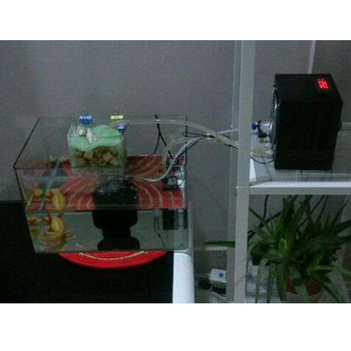 Aquarium fish tank chiller cooling system cooler fan and for Fish tank water cooler
