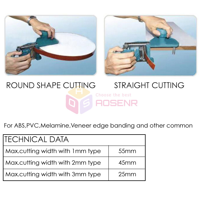 Hand End Trimmer Cutting Device Cut PVC Edge Banding