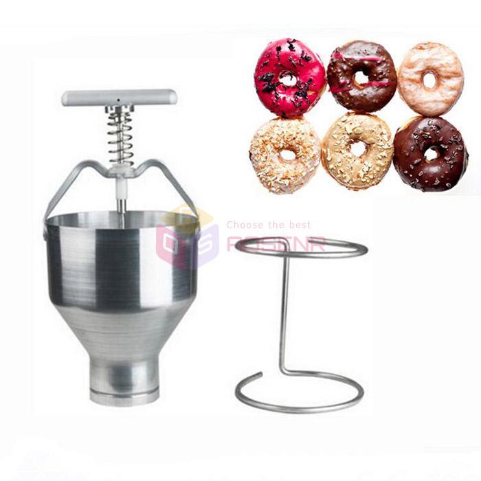 Manual Doughnut Donut Depositor Batter Dispenser Hopper Commercial Home Use