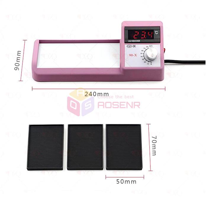 220V Jewelry Stone Setting Tool Thermal Vacuum Micro Wax Setting Machine