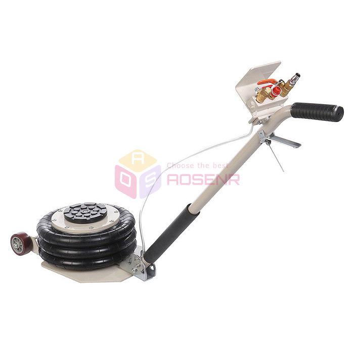 3 Ton Lifts Triple Stage Bag Air Go Jacks Frame Alignment